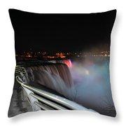 05 Niagara Falls Usa Series Throw Pillow