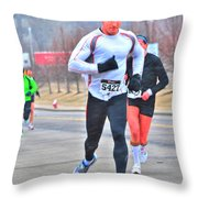 06 Shamrock Run Series Throw Pillow