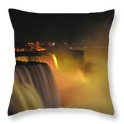 07 Niagara Falls Usa Series Throw Pillow