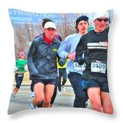 07 Shamrock Run Series Throw Pillow