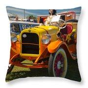 1915 Speedster Throw Pillow