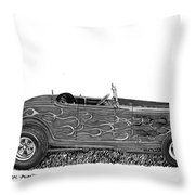 1932 Ford Hi Boy Hot Rod Throw Pillow