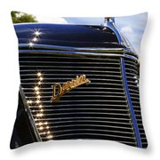 1937 Ford Model 78 Cabriolet Convertible By Darrin Throw Pillow by Gordon Dean II