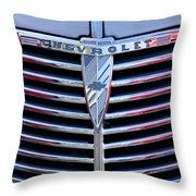 1939 Chevrolet Grille Throw Pillow