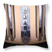 1940 Graham Grill Ornament Throw Pillow
