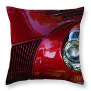 1941 Ford Truck Nose Throw Pillow