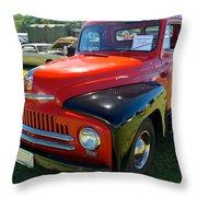 1950 International L-100 Throw Pillow