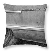 1951 Nash Ambassador Side Logo Throw Pillow