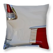 1955 Chevrolet 210 Taillight Throw Pillow
