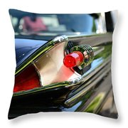 1958 Mercury Park Lane Tail Light Throw Pillow