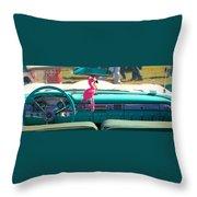 1959 Edsel Ford Throw Pillow