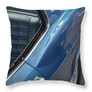 1966 Chevy Caprice Chevrolet Back Clip Throw Pillow