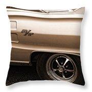 1967 Dodge Coronet Rt Throw Pillow