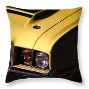 1972 Oldsmobile Cutlass 442 Throw Pillow