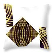 3 Square Throw Pillow