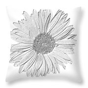 5552c5 Throw Pillow