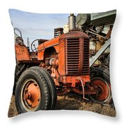 A Case Of Old Age Throw Pillow