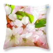 A Day In Spring Throw Pillow
