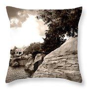 A Distant Shore Throw Pillow