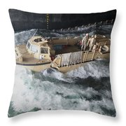 A Lighter Amphibious Re-supply Cargo Throw Pillow