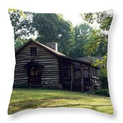 A Quiet Place On The Hill Throw Pillow