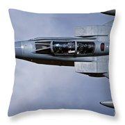 A Royal Air Force Tornado Gr4 Throw Pillow