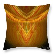 Abstract 104 Throw Pillow