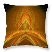 Abstract 105 Throw Pillow