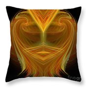 Abstract 106 Throw Pillow