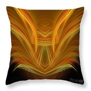 Abstract 107 Throw Pillow
