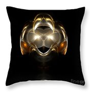 Abstract 111 Throw Pillow