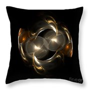 Abstract 113 Throw Pillow