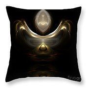 Abstract 115 Throw Pillow