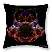 Abstract 163 Throw Pillow
