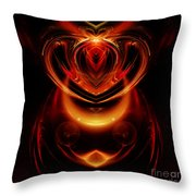 Abstract 166 Throw Pillow