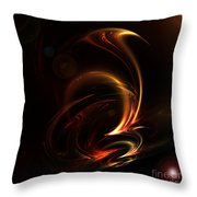 Abstract 167 Throw Pillow