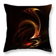 Abstract 168 Throw Pillow