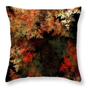 Abstract 179 Throw Pillow