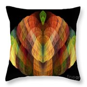 Abstract 202 Throw Pillow