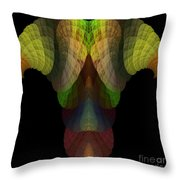 Abstract 203 Throw Pillow