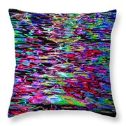 Abstract 240 Throw Pillow