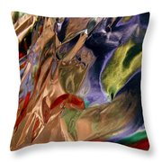 Abstract 3222 Throw Pillow