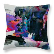 Abstract 4 Throw Pillow