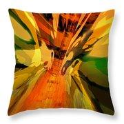 Abstract Dragon Fx  Throw Pillow