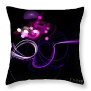 Abstract Eighteen Throw Pillow