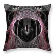 Abstract Eighty-five Throw Pillow