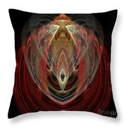 Abstract Eighty Throw Pillow