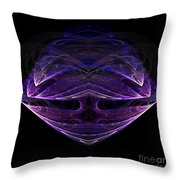 Abstract Eighty-one Throw Pillow