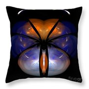 Abstract Eighty-six Throw Pillow