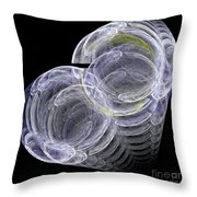Abstract Fifty-eight Throw Pillow